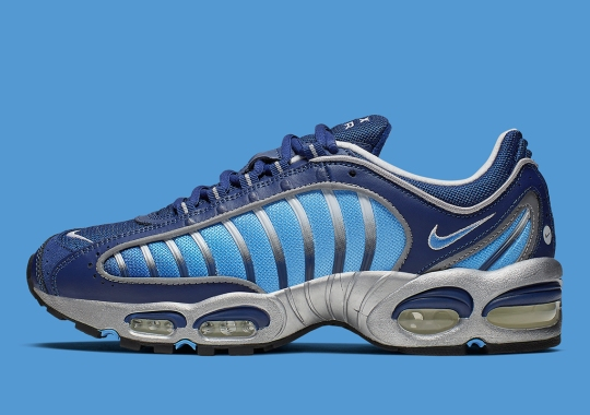 "Nike Air Max Tailwind IV ""Blue Void"" Features A Silver Trim"