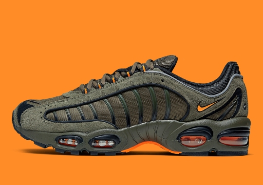 """The Nike Air Max Tailwind IV Adopts The """"Flight Jacket"""" Look"""