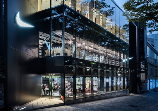 The Remodeled Nike Harajuku Store Features A Giant Floating Sculpture