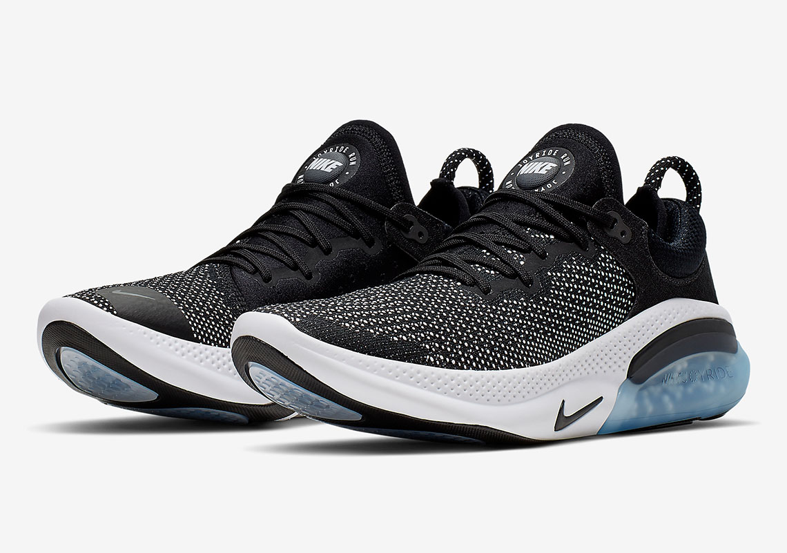 timeless design 7e516 173c0 Nike Joyride Run Flyknit AQ2730-001 Black White ...