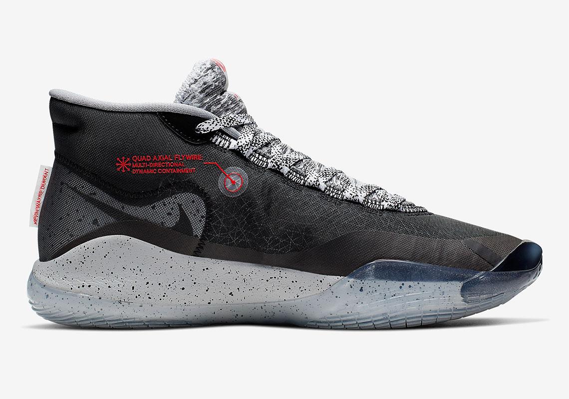 san francisco b7296 5433a Nike KD 12 Black Cement AR4230-002 Release Date ...