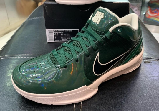 UNDEFEATED x Nike Kobe 4 Protro Revealed In Bucks Colors