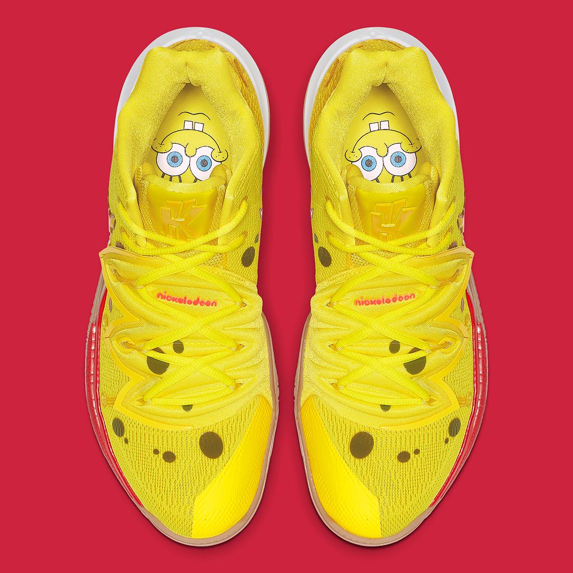 SpongeBob Nike Kyrie 5 Shoes - Release Date | SneakerNews.com