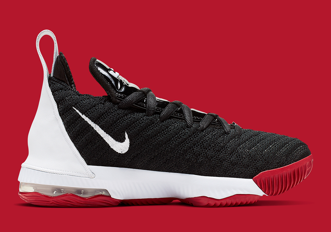 "Nike LeBron 16 Dressed In Classic ""Bred"" Colorway: Release Details"