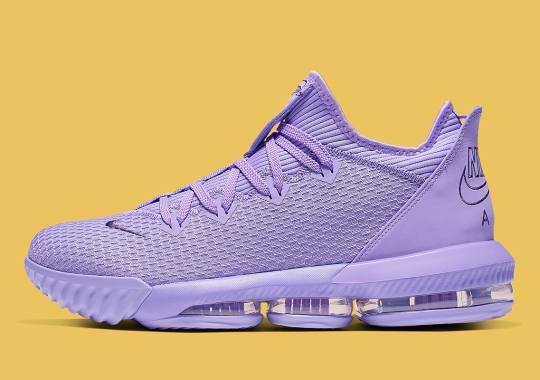 The Nike LeBron 16 Low Is Coming Soon In All Purple
