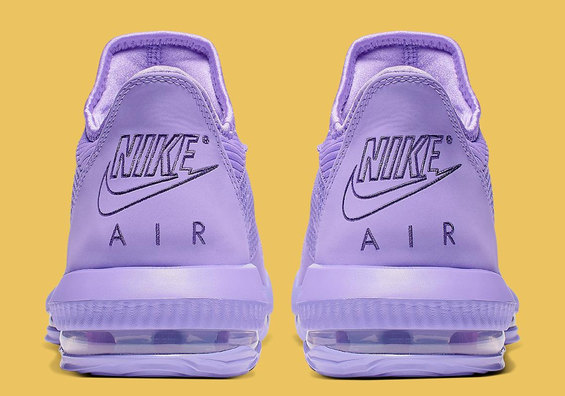 pretty nice 3a9f1 b458c Nike LeBron 16 Low Purple Violet CI2668-500 Release Info ...