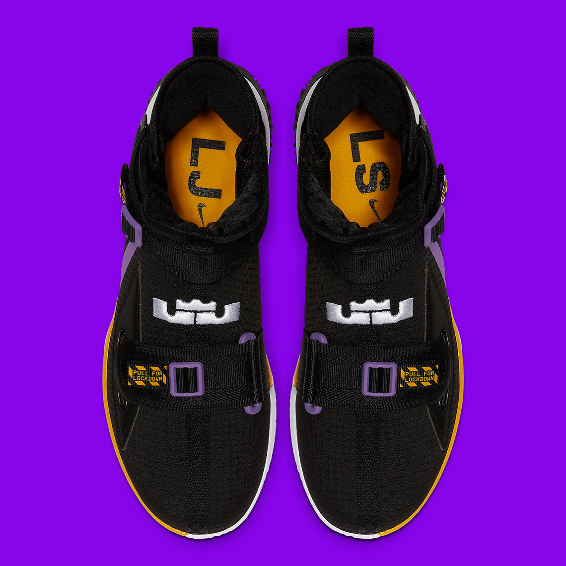 Lakers Colors Dress The Latest Nike LeBron Soldier 13: Official Photos