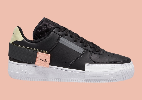 Nike's Experimental N.354 AF1 Type Is Releasing In Black