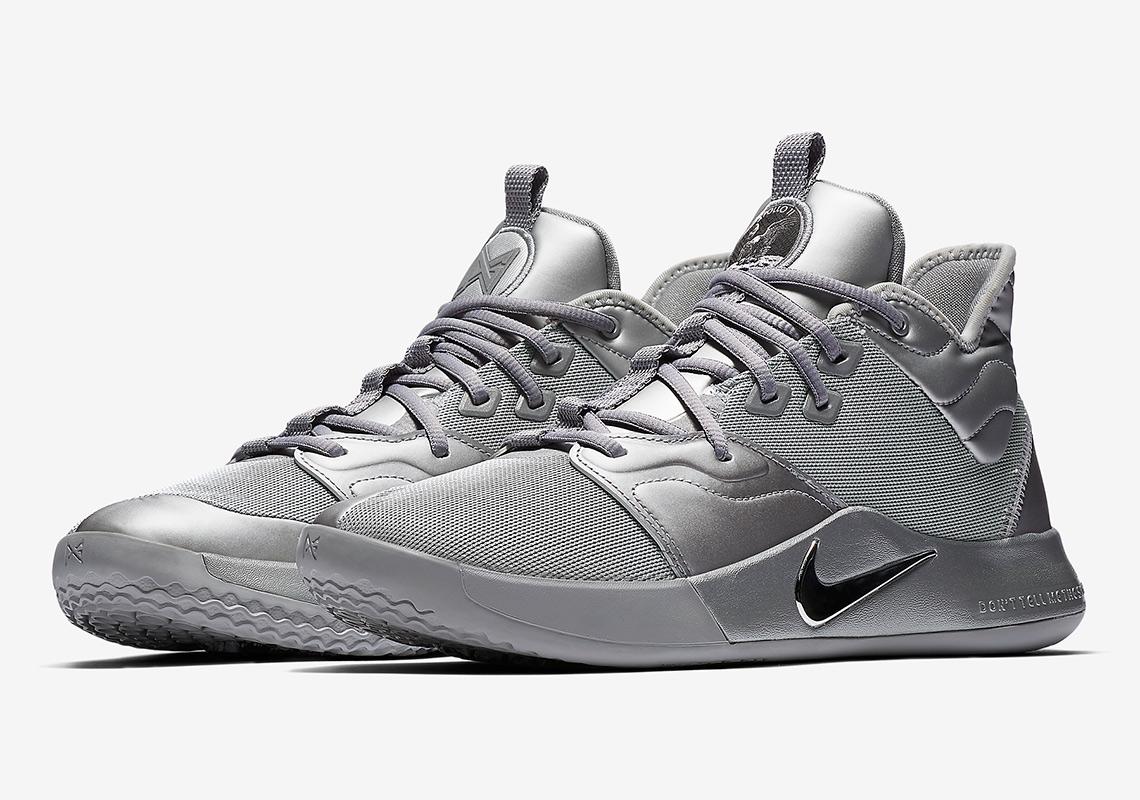 Nike PG3 NASA Silver Reflective CI2667