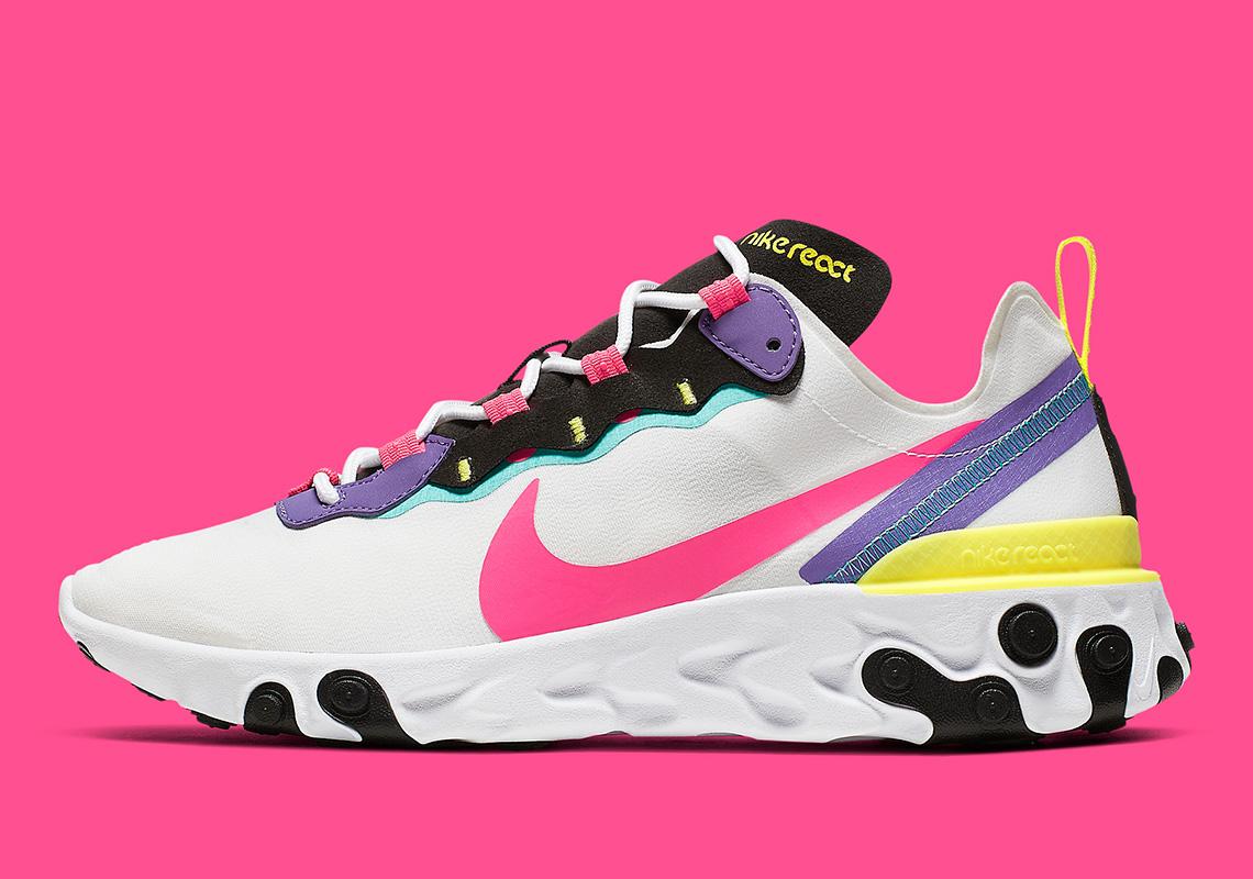 cómo utilizar Almuerzo Tía  Nike React Element 55 Psychic Purple CK0846-100 Release Info |  SneakerNews.com