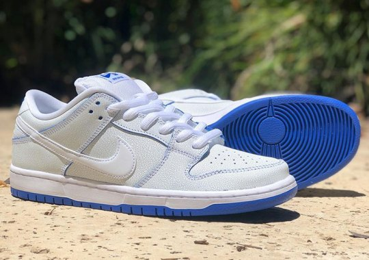 "Nike SB Dunk Low Premium ""Game Royal"" Features Cracked Leather Exteriors"