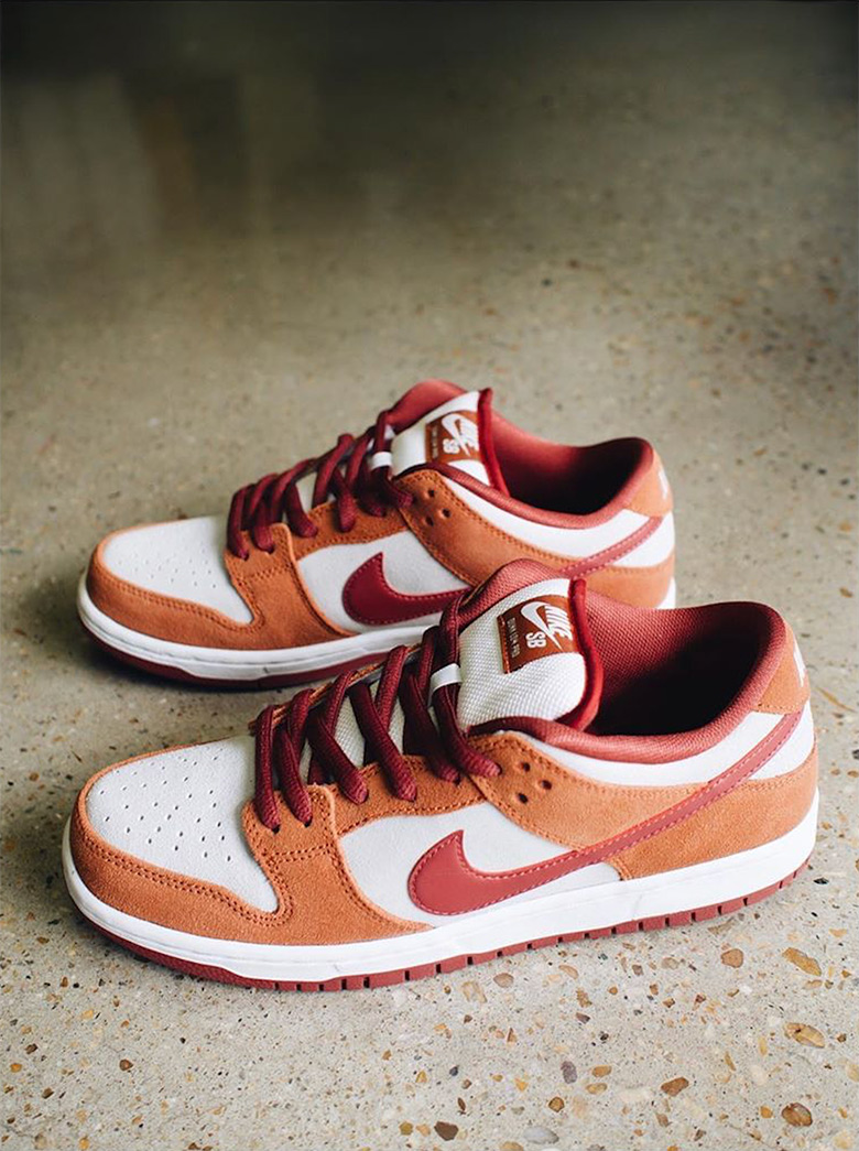 Nike SB Dunk Low Pro Russet Cedar
