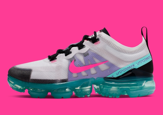 "This Women's Nike Vapormax 2019 Features A ""South Beach""-Style Colorway"