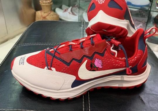 The Next Nike x Gyakusou Running Shoe Revealed With Subtle Floral Detailing