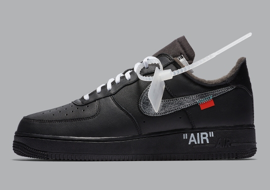 Official Images Of The Off-White x Nike Air Force 1 MoMA Emerge