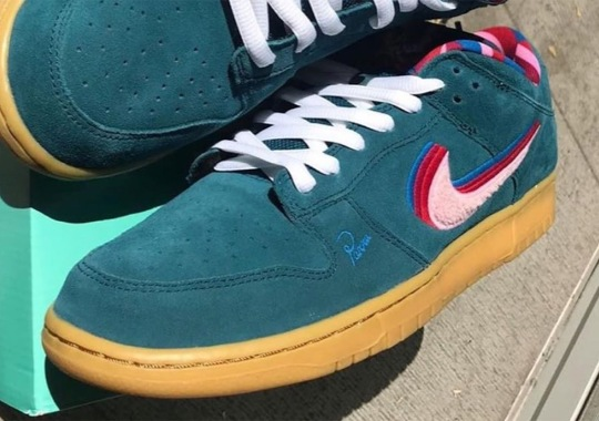 An Alternate Parra x Nike SB Dunk For Friends And Family Is Revealed