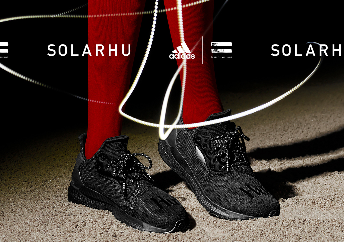 hot products many styles latest discount Pharrell adidas SOLARHU Glide Greyscale Pack Release Date ...