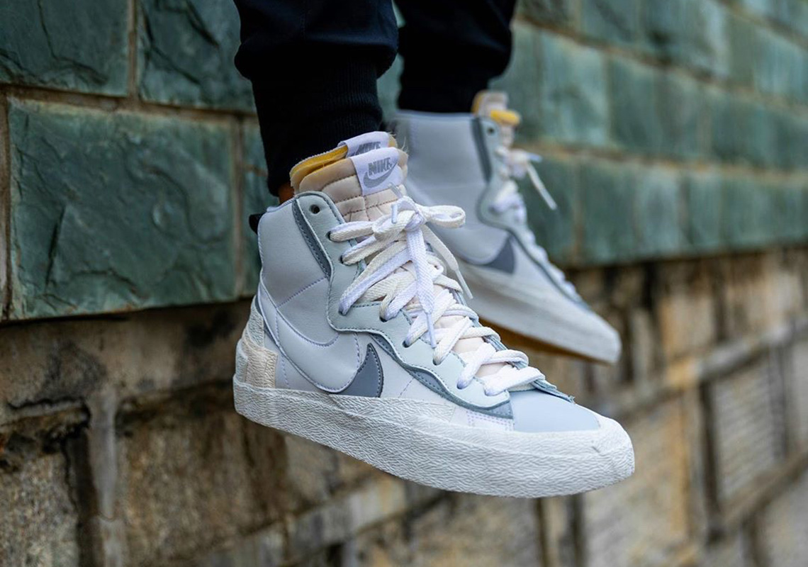 best prices big sale innovative design sacai Nike Blazer Mid BV8072-100 White Release Info + First ...