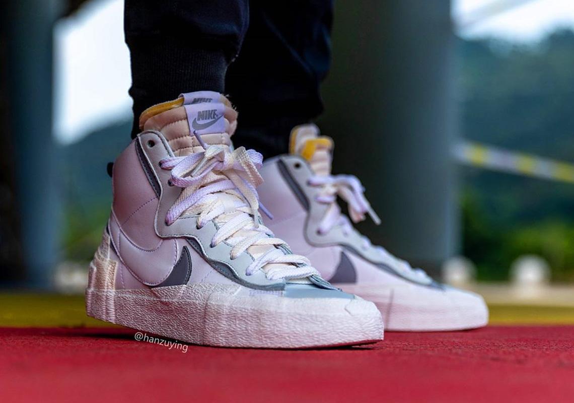 Sacai Nike Blazer Mid Bv8072 100 White Release Info