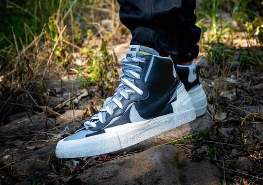 "Up Close With The sacai x Nike Blazer ""Greyscale"""