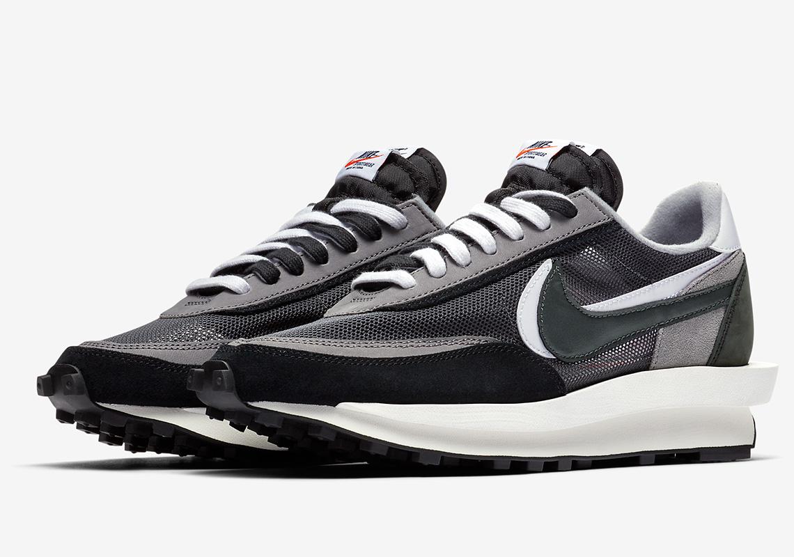 sacai Nike LDWaffle Black BV0073-001