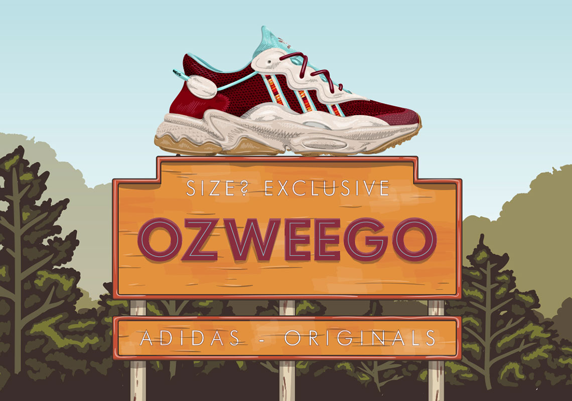 size? adidas Ozweego Release Date + Photos | SneakerNews.com