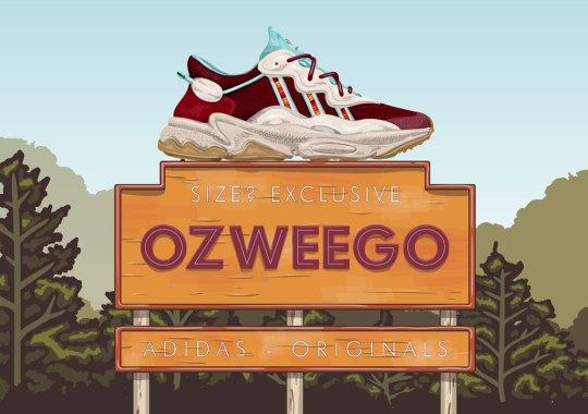 Size? Reveals Upcoming adidas Ozweego Exclusive