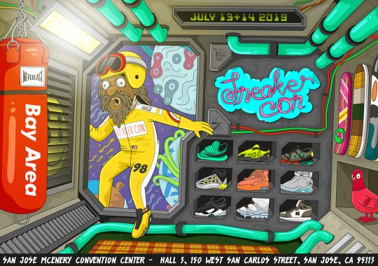 Sneaker Con Heads West To The Bay Area For Full Weekend Showing