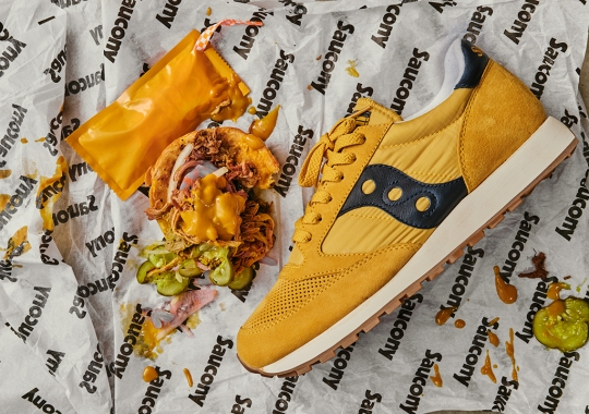 Sneaker Charleston And Saucony Team Up For A Special Jazz In Honor Of National Mustard Day