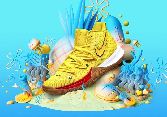 Nike And Kyrie Irving Celebrate 20th Anniversary Of SpongeBob Squarepants