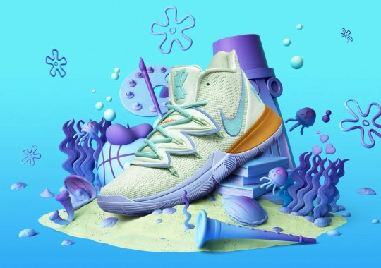 "The Nike Kyrie 5 ""Squidward"" Releases On August 10th"