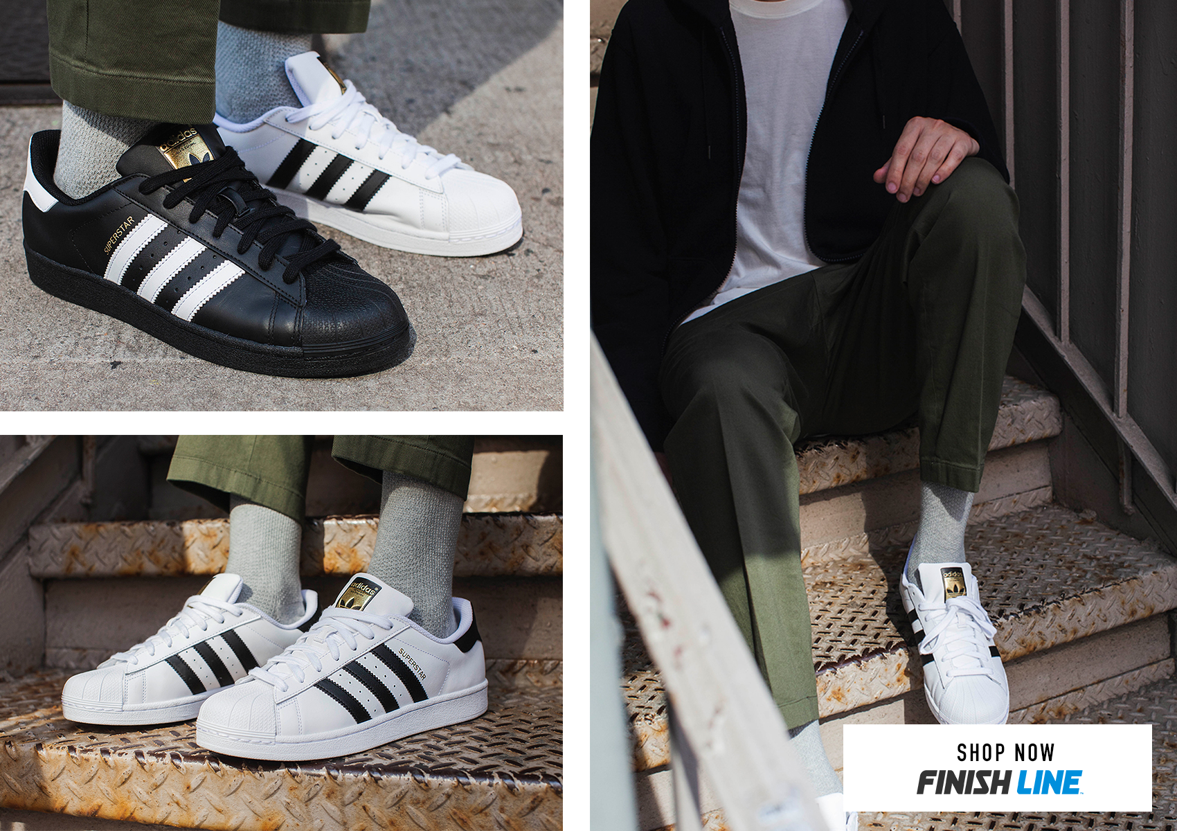 prix compétitif 83aeb a948d Celebrating 50 Years Of adidas Superstar With Finish Line ...
