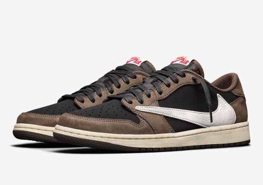 Official Images Of The Travis Scott x Air Jordan 1 Low