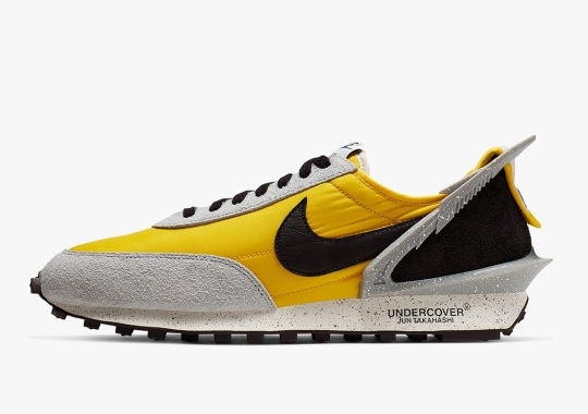 UNDERCOVER x Nike Daybreak In Citron Yellow Releases August 1st