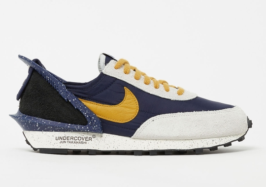 UNDERCOVER x Nike Daybreak Releasing In Navy And Gold