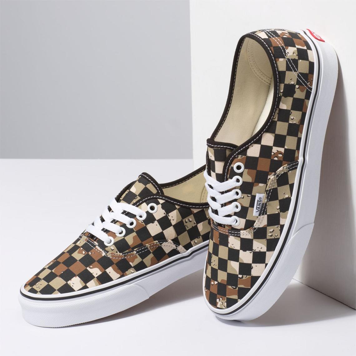 Vans Desert Camo Checkerboard Pack