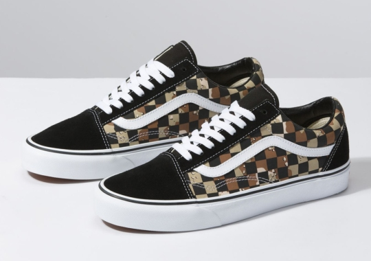 Vans Overlays The Iconic Checkerboard Above Desert Camo