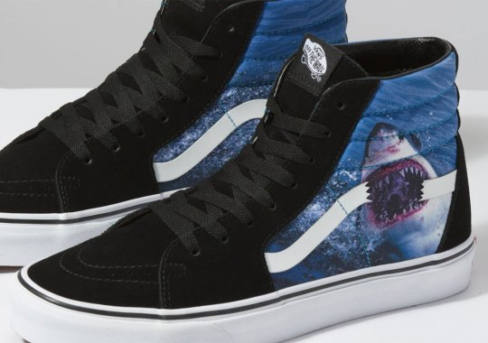 "Vans And Discovery Release ""Shark Week"" Footwear Collection"