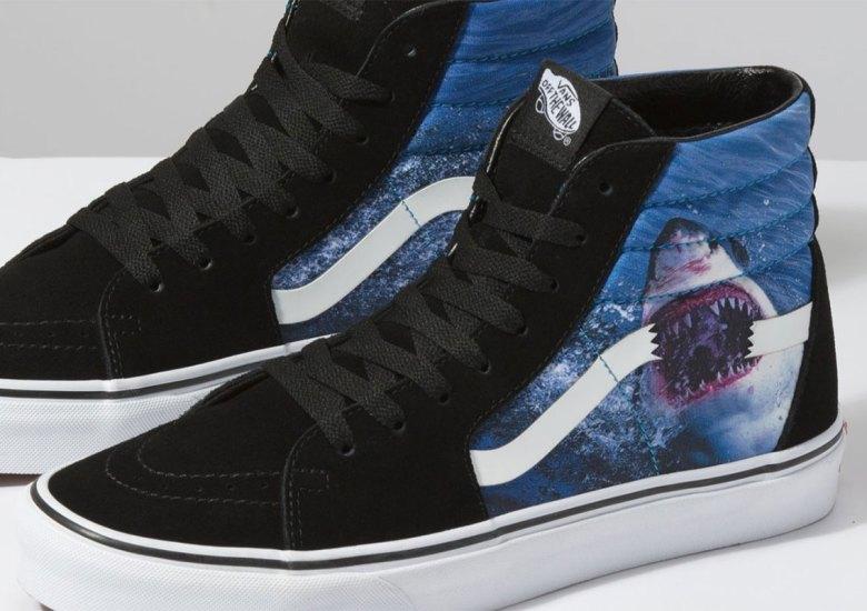Vans Shark Week Shoes Slip-On Sk8-Hi Sk8-Mid Release Info