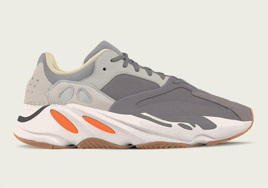 "adidas Yeezy Boost 700 Revealed In ""Magnet"" Colorway"