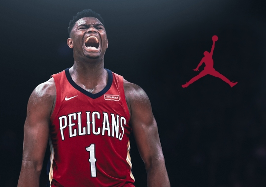 Zion Williamson Signs Endorsement Deal With Jordan Brand