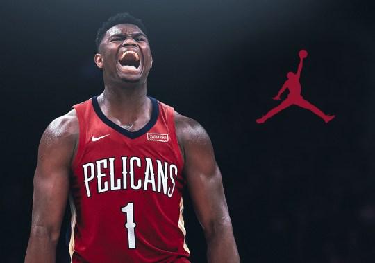 Zion Williamson Signs Endorsement Deal With Jordan Brand