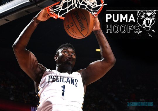 Is Zion Williamson Signing With Puma Hoops?