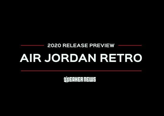Air Jordan Retro Preview For 2020