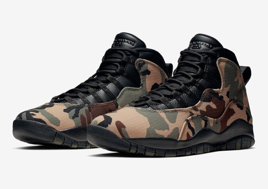 "Where To Buy The Air Jordan 10 ""Camo"""