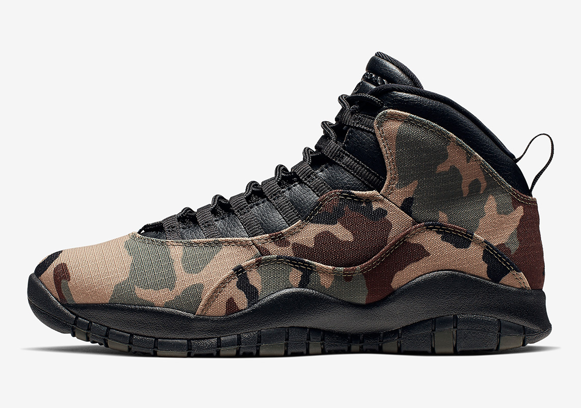 hot sale online e6219 c65d2 Where To Buy Air Jordan 10 Camo 310805-201 | SneakerNews.com