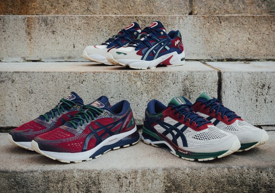 """The ASICS """"Academic Scholar"""" Pack Is Inspired By 90s Prep School Fashion"""