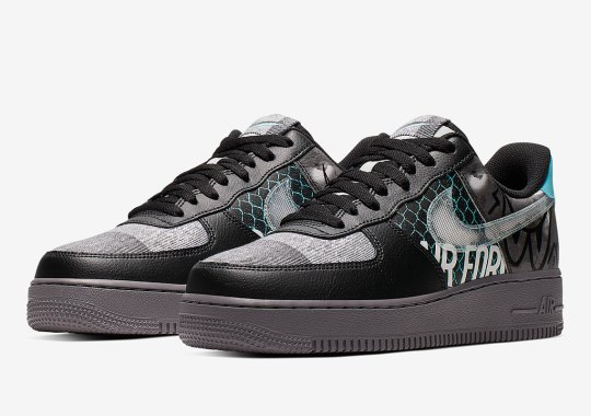 The Nike Air Force 1 Emerges with Graffiti-Inspired Graphics