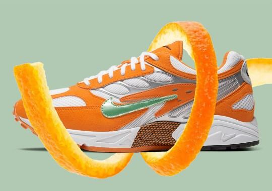 """The Nike Air Ghost Racer Appears In """"Orange Peel"""""""