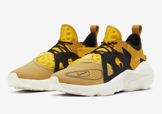 Nike's Latest Huarache Type Features Golden Uppers